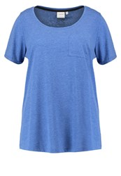 Junarose Jrlark Basic Tshirt Surf The Web Royal Blue