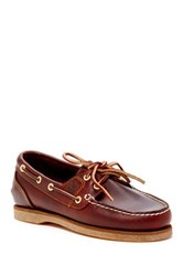 Timberland Amherst 2 Eye Boat Shoe Brown
