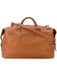 Sandqvist 'Jordan' Weekend Bag Brown
