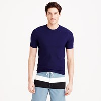 J.Crew Short Sleeve Rash Guard In Solid