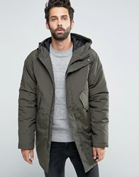 Edwin Fishtail Parka Uniform Green