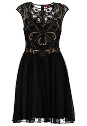 Derhy Aquitaine Cocktail Dress Party Dress Noir Black