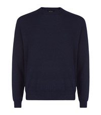 Paul Smith London Cashmere Solid Sweater Male