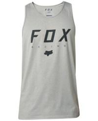 Fox Men's Graphic Print Tank Grey