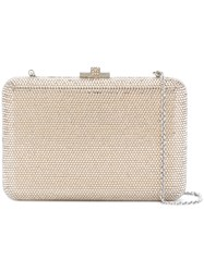 Judith Leiber Couture Slim Slide Bag Crystal Metallic