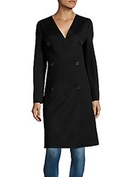 Jil Sander Textured Wool And Cashmere Blend Jacket Black