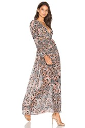 For Love And Lemons Gracie Dress Blush