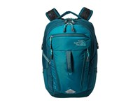 The North Face Women's Surge Backpack Harbor Blue Atlantic Deep Blue Backpack Bags