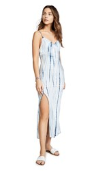 Blue Life Perfect Dress Bamboo Tie Dye Blue