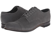 Stacy Adams Madison Gray Suede Men's Lace Up Cap Toe Shoes