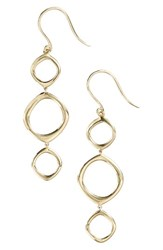 Bony Levy Women's Geo Circle Linear Drop Earrings Nordstrom Exclusive