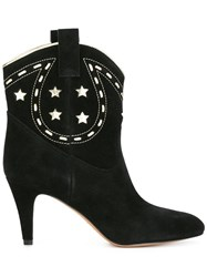 Marc Jacobs 'Georgia' Cowboy Boots Black