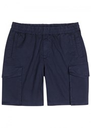 Paul Smith Ps By Navy Cotton Cargo Shorts