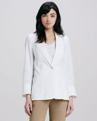 Theory Icon Relaxed Linen Blazer Women's