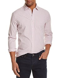 Bloomingdale's The Men's Store At Gingham Regular Fit Button Down Shirt Dusty Rose