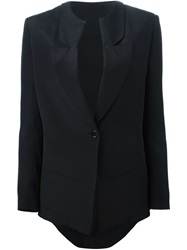 Cnc Costume National Costume National Asymmetric Hem Blazer Black