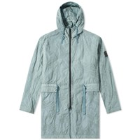 Stone Island Shadow Project Imprint Nylon Packable Parka Green