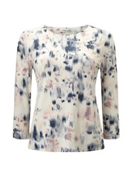 Eastex Reflective Bloom Print Top Multi Coloured Multi Coloured