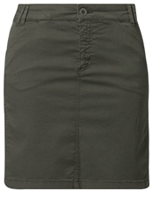 Marc O'polo Denim Skirt Oliv