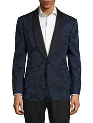 Ralph Lauren Anthony Regular Fit Shawl Collar Jacket Navy