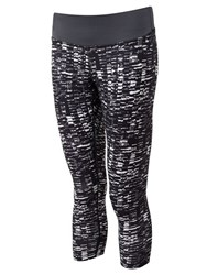 Ronhill Momentum Cropped Running Tights Grey Sponge