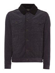 Label Lab Men's Parkes Cord Jacket Grey