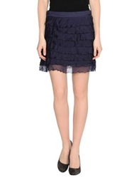 Nolita Mini Skirts Dark Blue