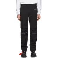 Off White Black Zip Cargo Pants