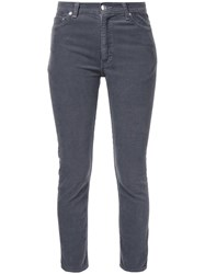Cityshop Corduroy Skinny Trousers Grey