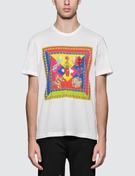 Versace Front Square Print S S T Shirt