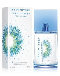 Issey Miyake L Eau D Pour Homme Summer Limited Edition Eau De Toilette Spray 4.2 Oz. No Color