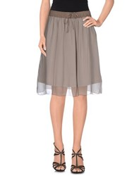 European Culture Skirts Knee Length Skirts Women