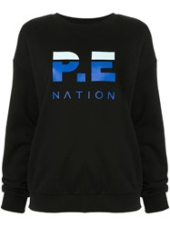 P.E Nation Heads Round Sweatshirt Black
