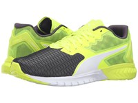 Puma Ignite Dual Safety Yellow Asphalt Men's Running Shoes Black