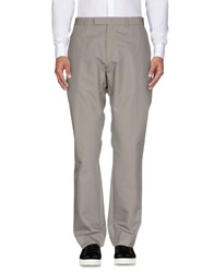 Christian Dior Homme Casual Pants Grey