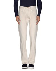 Maison Clochard Denim Denim Trousers Men Beige
