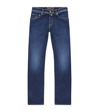 Jacob Cohen Relaxed Mid Wash Jeans Male