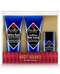 Jack Black 3 Pc. Body Works Set