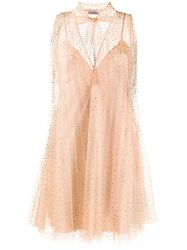Red Valentino Tulle Point D'esprit Dress 60