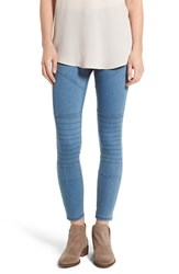 Hue Women's Moto Denim Leggings