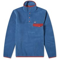 Patagonia Synchilla Snap Sweat Blue