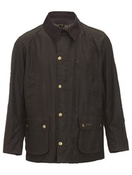 Barbour Ashby Waxed Cotton Field Jacket Olive