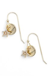 Marc Jacobs Women's Coin Drop Earrings Gold