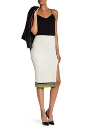 Rag And Bone Sheridan Rib Knit Tube Skirt White