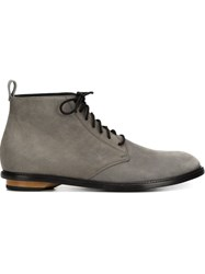 Valas Lace Up Shoes Grey