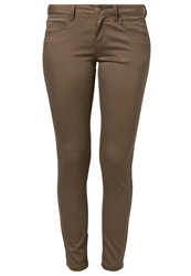 Only Nynne Slim Fit Jeans Chocolate Chip Brown