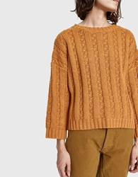 Which We Want Bailey Sweater In Rust