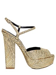 Dsquared 150Mm Brocade Platform Sandals