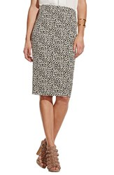 Women's Vince Camuto 'Shadow Forms' Print Midi Tube Skirt