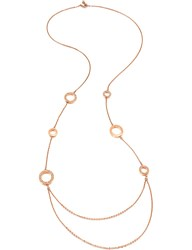 Folli Follie Classy Rose Gold Plated Necklace